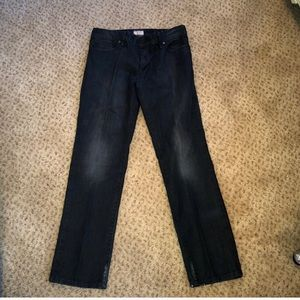 Hugo Boss Black Maine Jeans 30 x 32 Regular Fit Charcoal Stretch Denim NWT $178